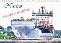 Dusanka Djeric - Navires d'un point de vue différent (Calendrier mural 2017 DIN A4 horizontal) - Une sélection des navires à passagers et cargos, d'un point de vue artistique. (Calendrier mensuel, 14 Pages ).