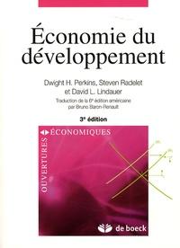 Dwight H. Perkins et Steven Radelet - Economie du développement.