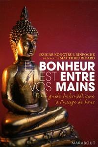 Dzigar Kongtrül Rinpoché - Le bonheur est entre vos mains - Petit guide du bouddhisme à l'usage de tous.