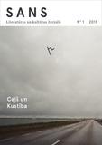 E-Žurnāls Sans - Sans nr. 1 - Literatūras un kultūras žurnāls.