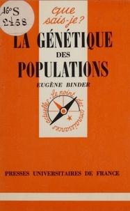 E Binder - La Génétique des populations.