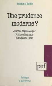 E Boullet - Une prudence moderne ?.