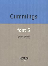 E-E Cummings - Font 5.