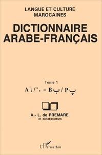 DICTIONNAIRE ARABE-FRANCAIS. Tome 1.pdf