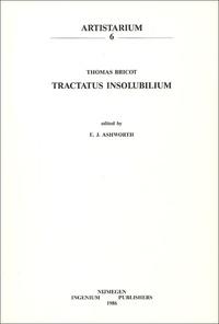 E-Jennifer Ashworth - Tractatus Insolubilium - Thomas Bricot.