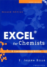 Excel for Chemists. A Comprehensive Guide, with CD-ROM, 2nd edition - E-Joseph Billo |