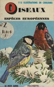 E. Léo et Yvonne Letouzey - Oiseaux, espèces européennes.
