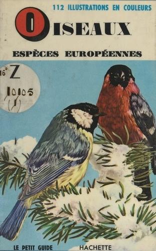 Oiseaux, espèces européennes
