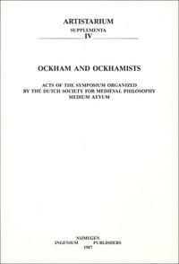 E-P Bos - Ockham and Ockhamists.