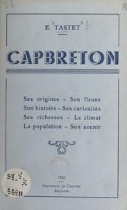 E. Tastet - Capbreton.