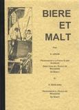 E. Urion - Bière et Malt.