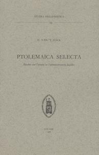 Deedr.fr Ptolemaica selecta, études sur l'armée et l'administration lagides Image
