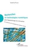 Ecaterina Pacurar - Recherches en technologies numériques pour l'apprentissage et la formation - Une exploration par cartographie des tendances récentes.