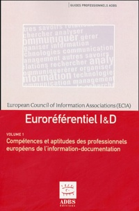 Costituentedelleidee.it Euroréférentiel I & D en 2 volumes : Compétences et aptitudes des professionnels européens de l'information-documentation ; Niveaux de qualification des professionnels européens de l'information-documentation Image