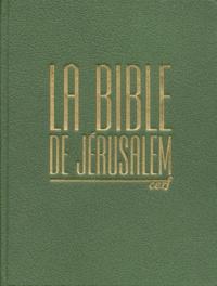 Ecole biblique de Jérusalem et  Collectif - .