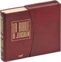 Ecole biblique de Jérusalem - La Bible de Jérusalem - Edition PVC bordeaux.