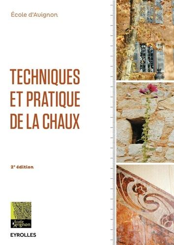Ecole d'Avignon - Techniques et pratique de la chaux.