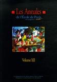 Ecole de Paris du management - Les Annales de l'Ecole de Paris du management - Volume 12, Travaux de l'année 2005.