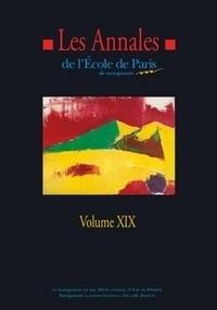 Ecole de Paris du management - Les annales de l'Ecole de Paris du management - Volume 19, Travaux de l'année 2012.