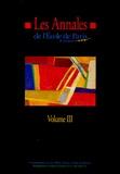 Ecole de Paris du management - Les Annales de l'Ecole de Paris du management - Volume 3, Travaux de l'année 1996.
