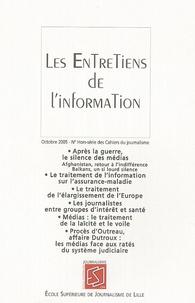 Loïc Hervouet - Les cahiers du journalisme N° Hors-série, Octob : Les Entretiens de l'information.
