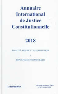 Economica - Annuaire international de justice constitutionnelle - Tome 34.