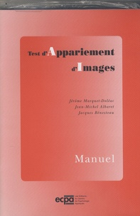 Jérôme Marquet-Doléac et Jean-Michel Albaret - AI Test d'Apppariement d'Images - Matériel complet dans une mallette avec 25 feuilles de notation, 11 planches d'images et le manuel.