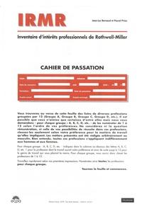 IRMR Inventaire dintérêts professionnels de Rothwell-Miller - Cahier de passation. 25 exemplaires.pdf