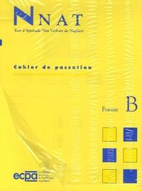 Jack A. Naglieri - NNAT Test d'aptitude non verbale de Naglieri - Cahier de passation et de réponses de la Forme B (CP) : 6 ans, le paquet de 25.