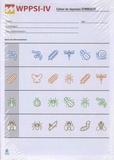 ECPA - WPPSI-IV Cahier de réponses symboles - Pack de 25 exemplaires.