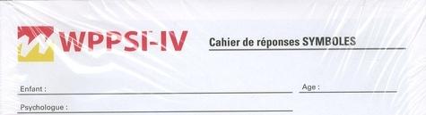 ECPA - WPPSI-IV - Cahier d'administration 4 ans à 7 ans 7 mois (paquet de 25).