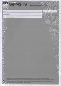 ECPA - WPPSI-IV - Cahier de répondes CODE - Pack en 25 volumes.