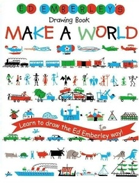 Ed Emberley - Ed Emberley's Drawing Book - Make a World.