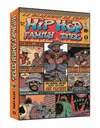Ed Piskor - Hip Hop Family Tree  : Coffret en 2 volumes - Tome 1, 1970s-1981 ; Tome 2, 1981-1983 - Avec un poster géant.
