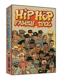 Ed Piskor - Hip Hop Family Tree  : Coffret en 2 volumes - Tome 3, 1983-1984 ; Tome 4, 1984-1985 - Avec un poster géant.