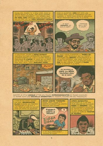 Hip Hop Family Tree Tome 1 1970s-1981