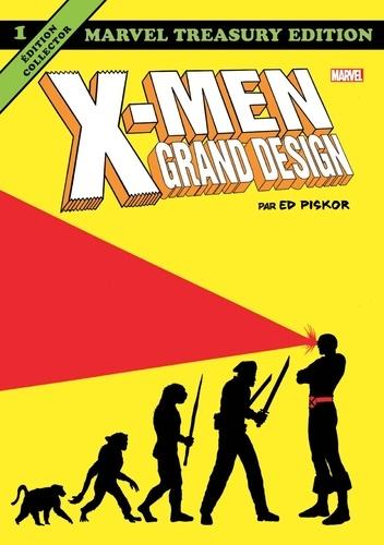 Ed Piskor - X-Men Grand Design (Par Ed Piskor) T01.