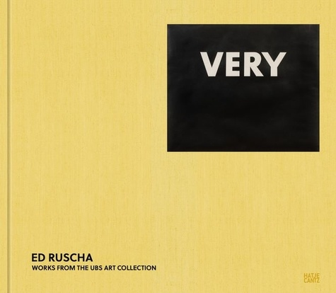 Ed Rusha - Very - Works from the UBS Art Collection.