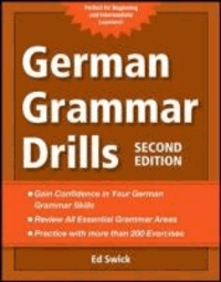 Ed Swick - German Grammar Drills.