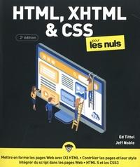 Ed Tittel et Jeff Noble - HTML, XHTML & CSS3 pour les nuls.