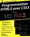 Ed Tittel et Chris Minnick - Programmation HTML5 avec CSS3 pour les nuls.