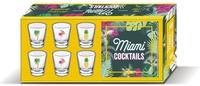 Edda Onorato - Miami cocktails - Avec 6 verres à shot.