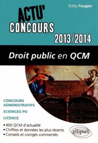 Eddy Fougier - Droit public en QCM.