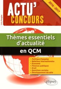 Deedr.fr Thèmes essentiels d'actualité en QCM - 2000 questions de culture générale et d'actualité politique, économique, internationale et sociale Image