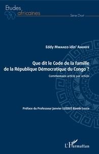 Openwetlab.it Que dit le Code de la famille de la République Démocratique du Congo ? - Commentaire article par article Image