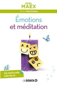 Edel Maex - Emotions et méditation. 1 CD audio MP3