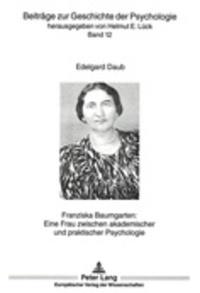 Alixetmika.fr Franziska Baumgarten - Eine Frau zwischen akademischer und praktischer Psychologie Image