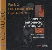 Alfredo Gonzalez Hermoso et Carlos Romero Duenas - Fonetica, entonacion y ortografia - Pack 2 entonacion, capitulos 22-28. 2 CD audio