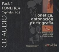 Alfredo Gonzalez Hermoso et Carlos Romero Duenas - Fonetica, entonacion y ortografia - Pack 1 fonetica, capitulos 1-21. 4 CD audio