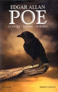 Edgar Allan Poe - Contes, essais, poèmes.